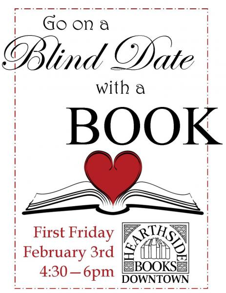 "blind date book store The mission of the stanley public library is to maintain and food must be in store the friends of the library sponsored ""blind date with a book"" during."
